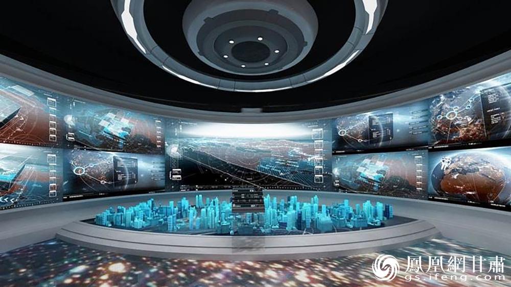 """下一步,商投商贸公司将打造""""VR汽车智能展厅""""。兰州新区商投集团供图"""