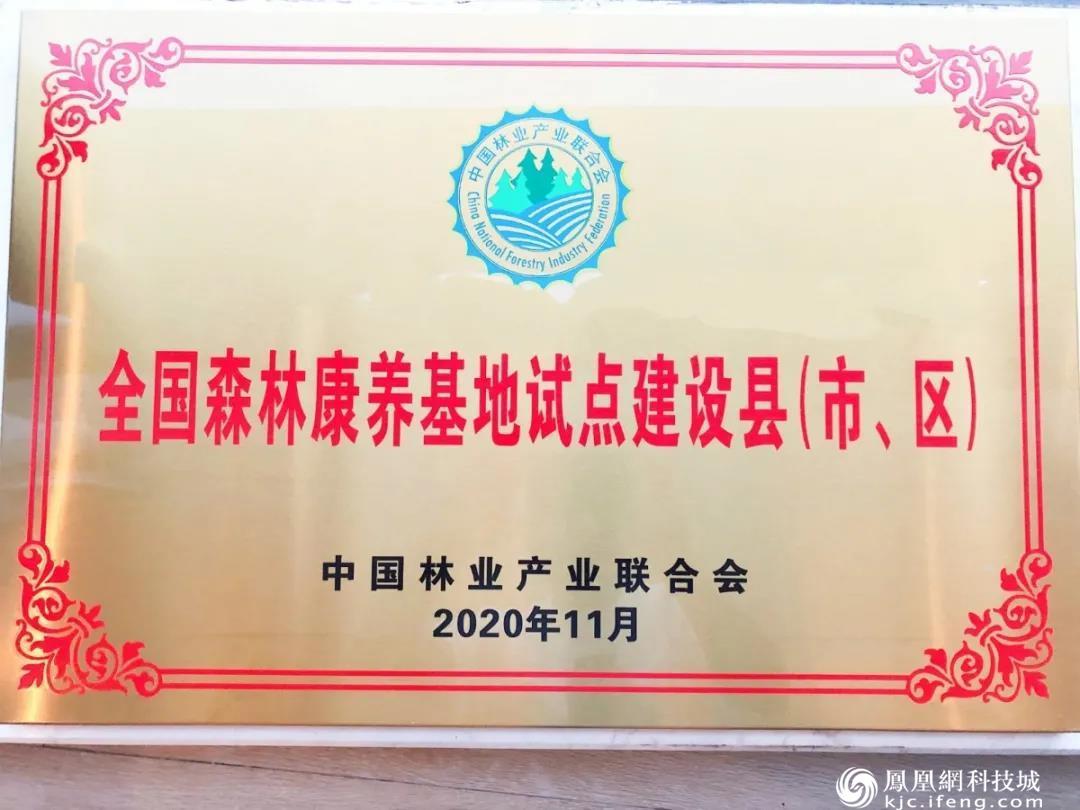 绵阳新增5处国家级森林康养基地