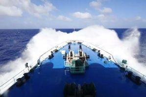 """""""远望""""号测量船队乘风破浪,期盼中国声音早日从月背传来!"""