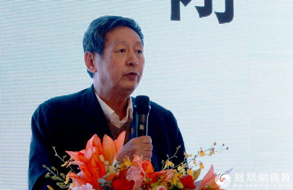 黄夏年教授做学术总结发言(图片来源:凤凰网佛教)