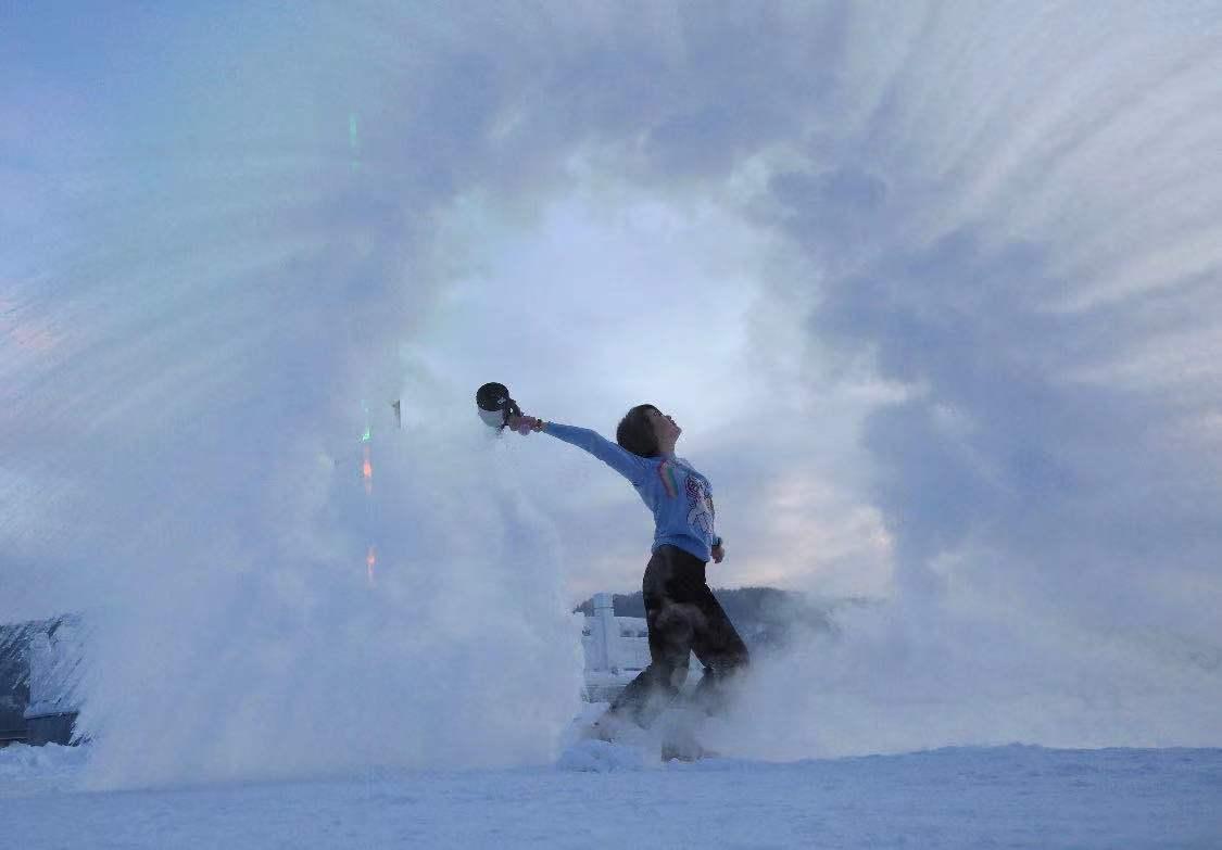 到此一游|玩雪、看冰泡、打卡最北邮局,冬天去寄一张北国明信片