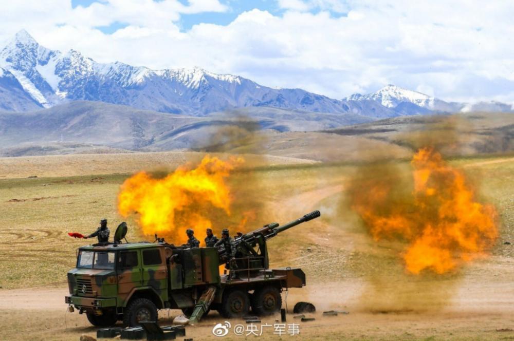 印媒列城实控线附近发现中国坦克运输车,解放军并未放松警惕 热点资讯 第2张
