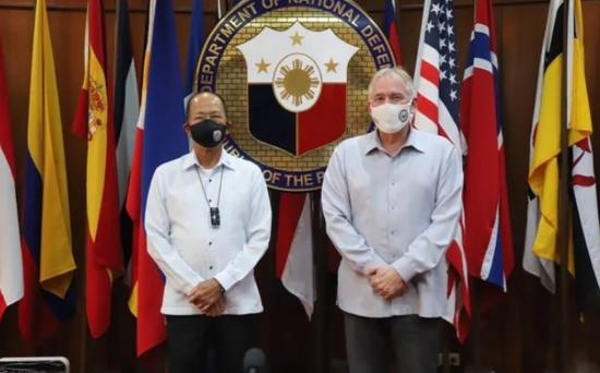 【比特币挖矿网站】_菲防长:若中美在南海爆发热战,菲律宾也将参与冲突