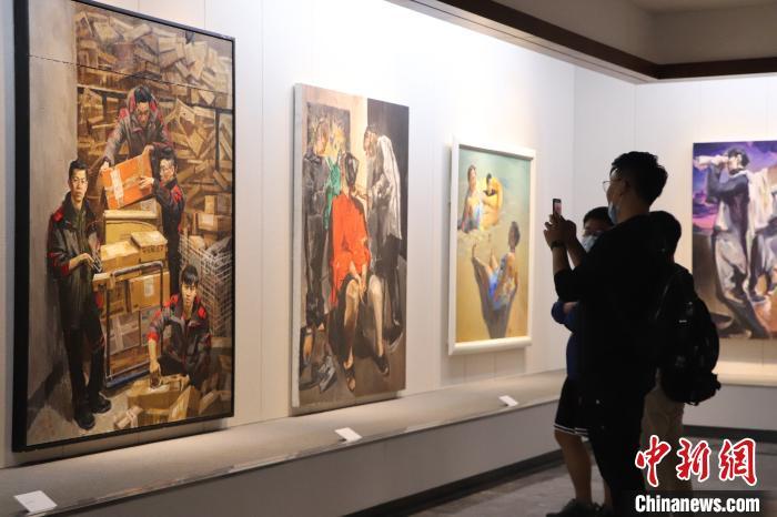 广东梅州举行林风眠诞辰120周年纪念活动