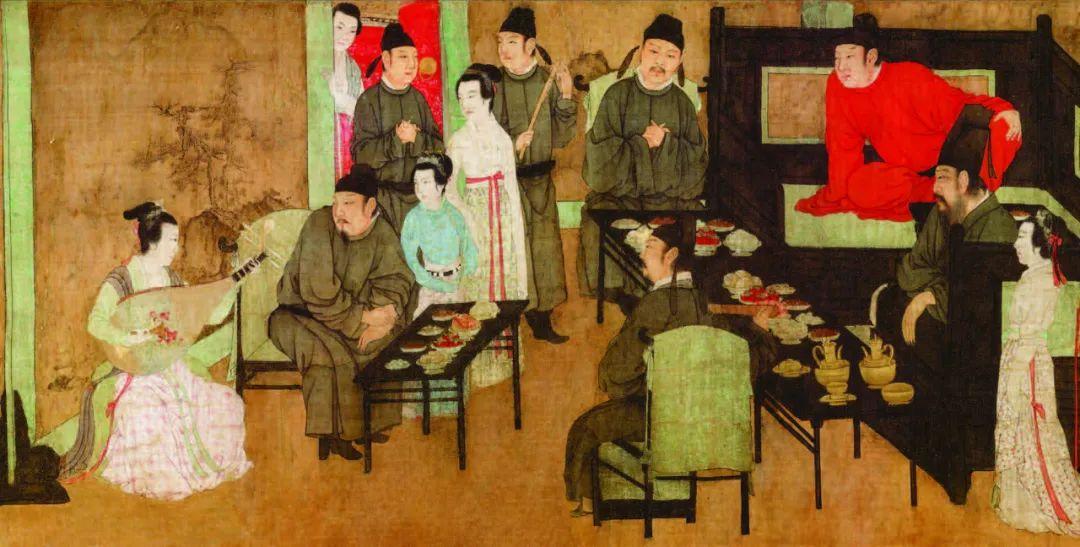 《韩熙载夜宴图》第一段