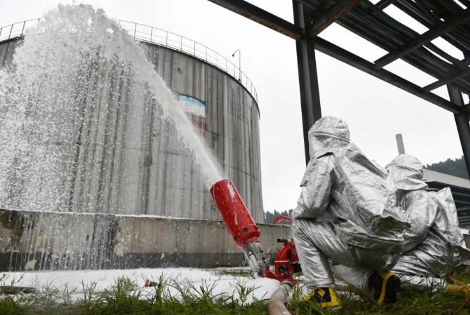 化工企业发生泄漏?四川省川东战区化工装置事故处置实战演练在达州举行