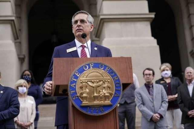 遭特朗普多次批评后,佐治亚州长和州务卿拒绝推翻选举结果