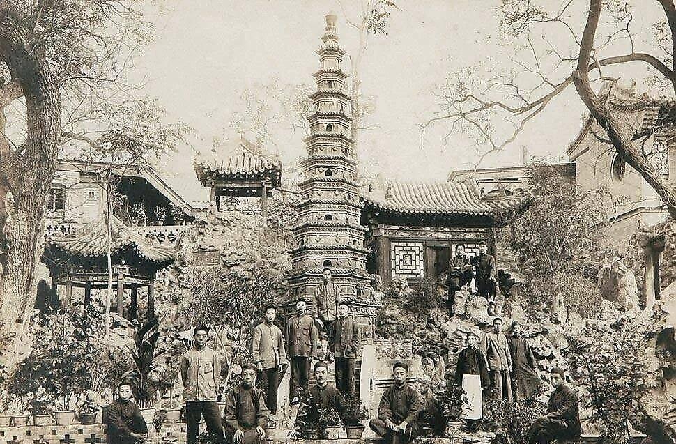 民国时期的太原公园