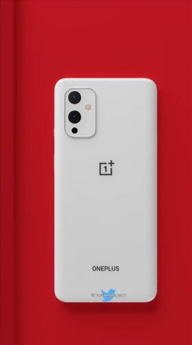 又来一个纯白手机,一加9外观渲染图曝光