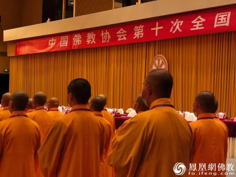 共同祈福(图片来源:凤凰网佛教)