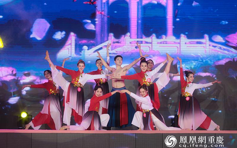 选手才艺表演:古风舞蹈《王者行》