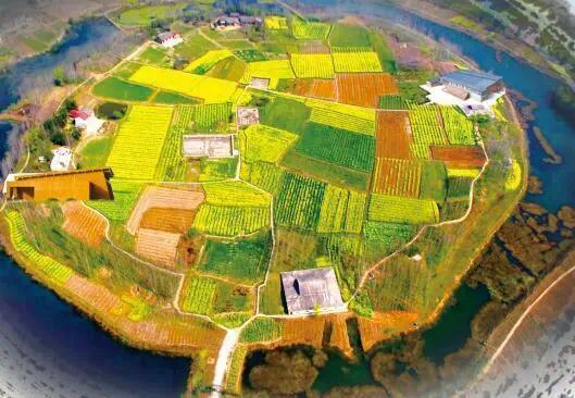 中国湖南常德,广袤的澧阳平原