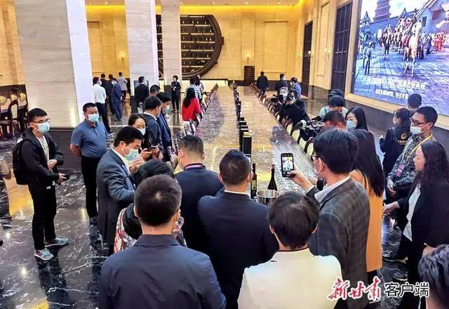 河西走廊第十届有机葡萄美酒节 图片来源:新甘肃客户端