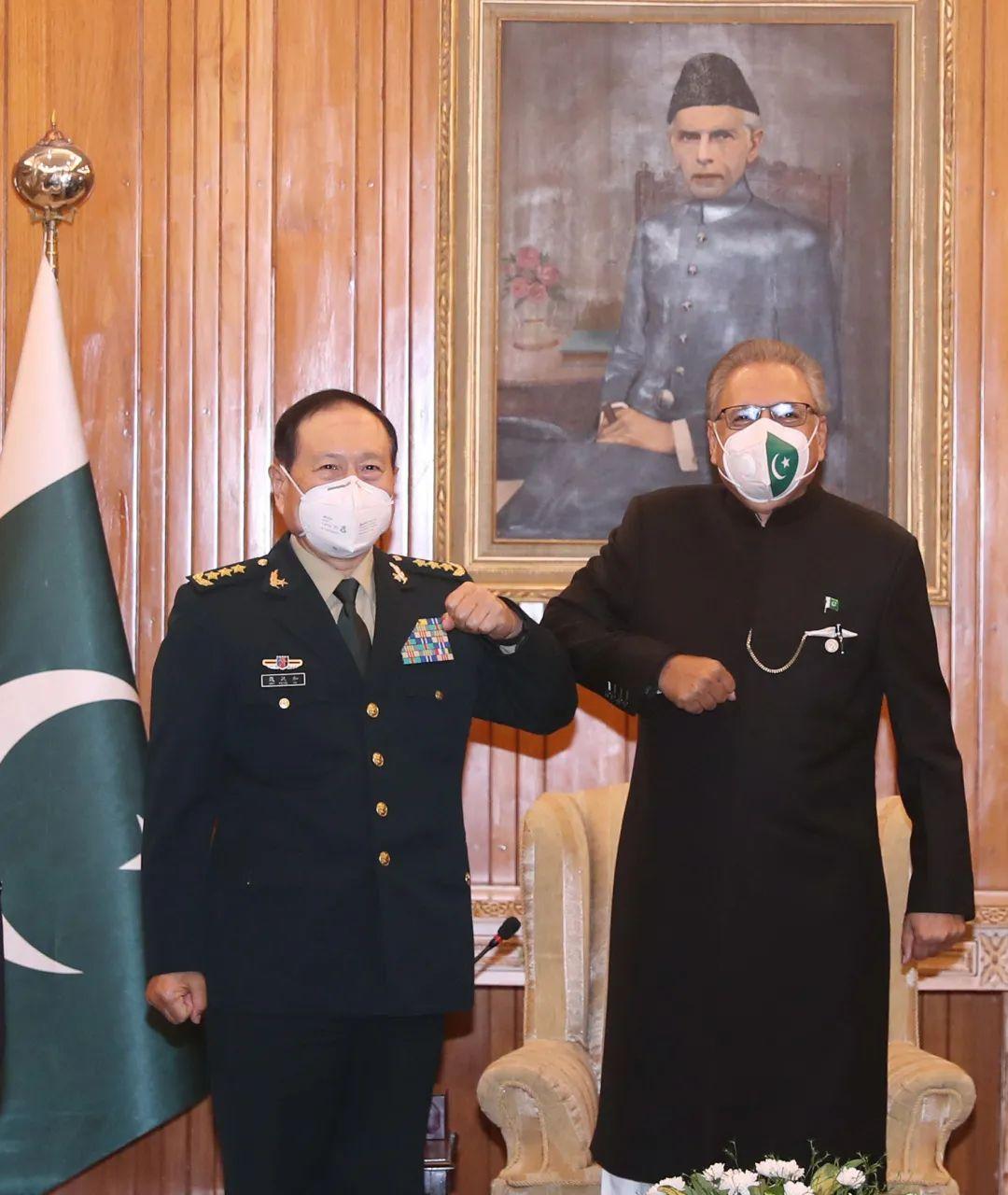 【迪士尼国际app】_巴基斯坦总统、总理会见魏凤和:支持中方在南海等问题上立场