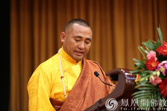 中国佛教协会副会长东宝·仲巴呼图克图(图片来源:凤凰网佛教 摄影:李保华)