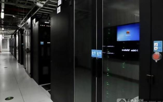 (位于中国移动广西公司(五象)数字信息中心的IDC机房 李勤虹/摄)