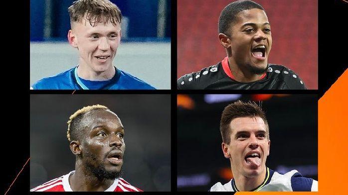 欧联杯本周最佳球员候选:洛切尔索领衔,利昂-贝利入选