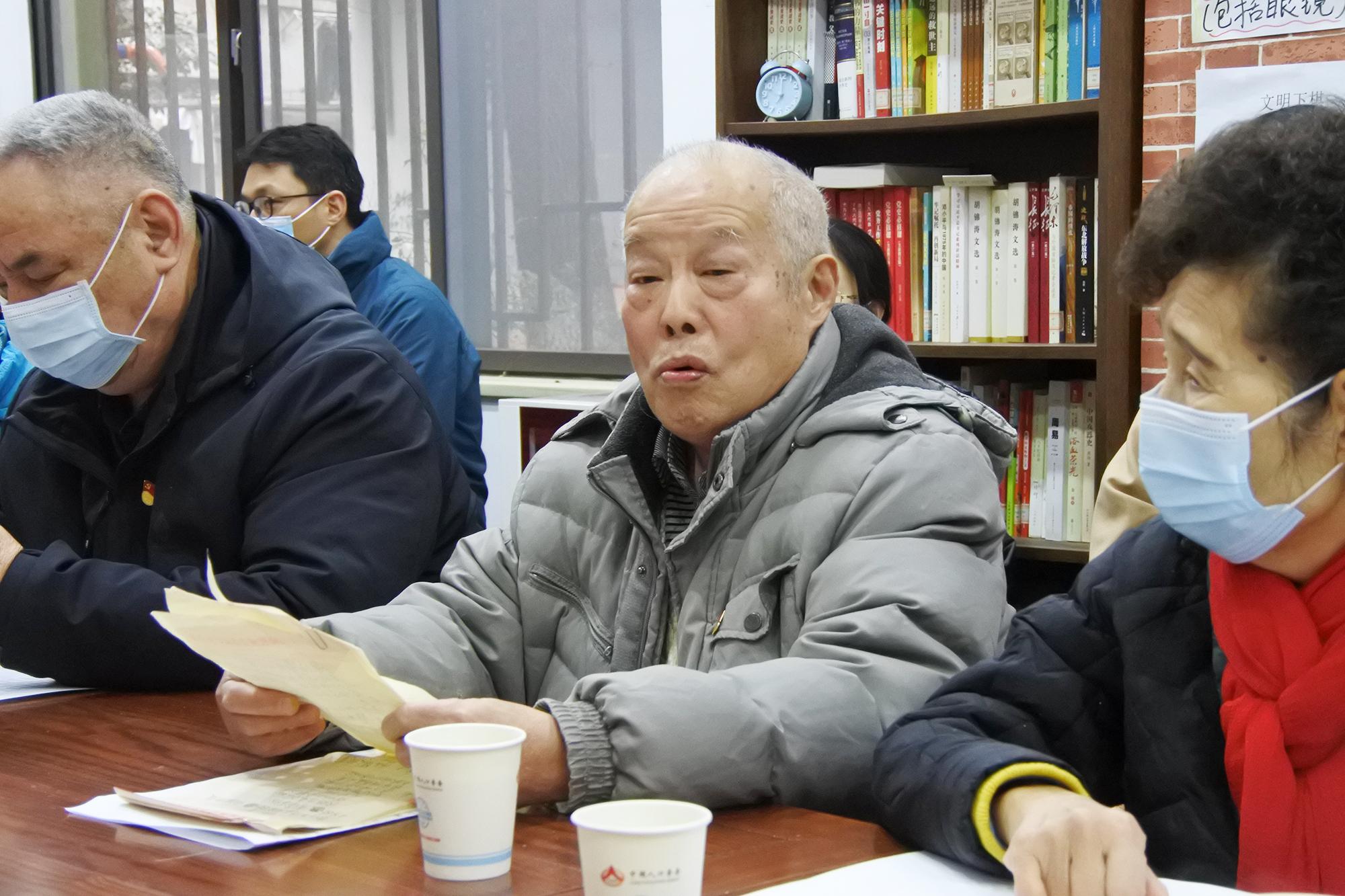 """凝聚全会思想共识 武昌区""""红巷爷爷的故事会""""宣讲活动润人心"""