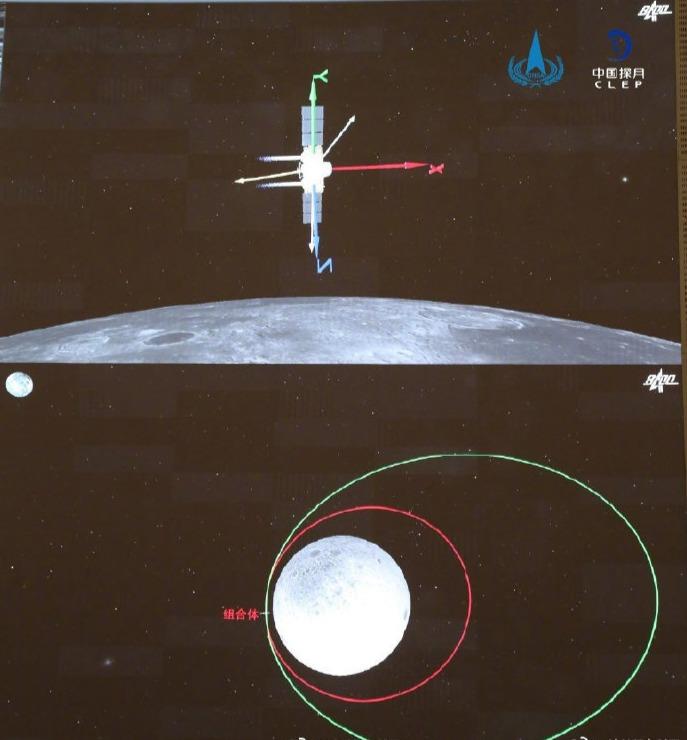 嫦娥五号第一次月地转移入射成功 将择机实施第二次入射