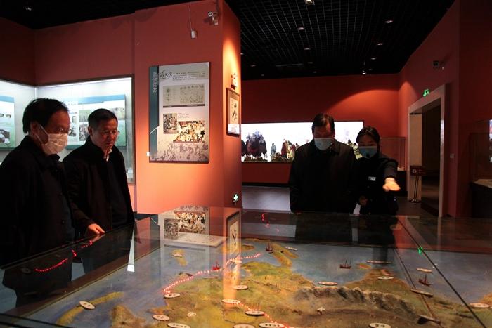 参观中国农业历史博物馆