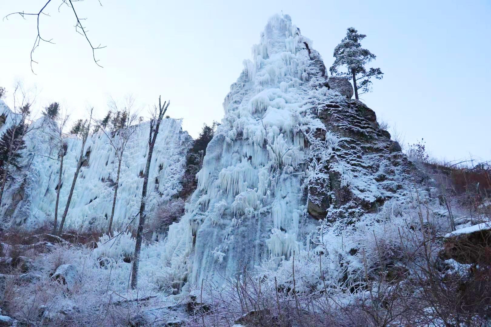 伊春九峰山 多趣冰雪带来别样的冬天