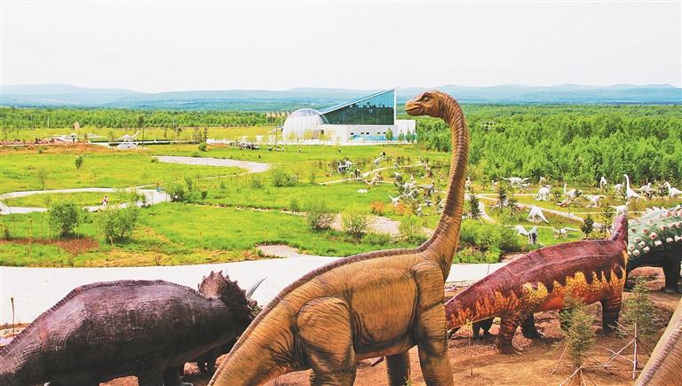 恐龙文化。