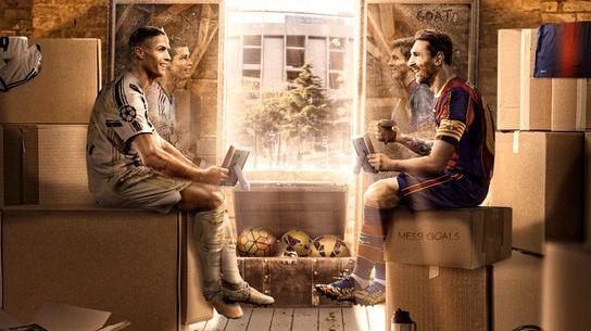 球王对决!巴萨官方发布对阵尤文图斯比赛海报