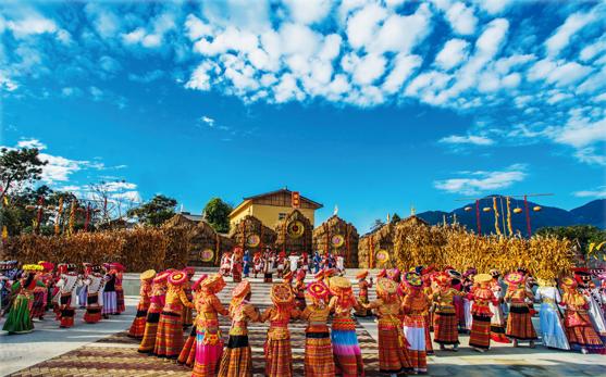 米易傈僳族约德节(资料图)。(米易县文广旅局 供图)