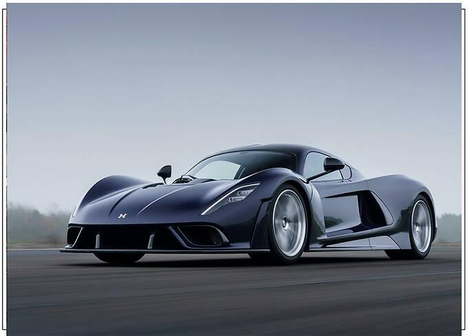 轩尼诗新车毒药F5发布碳纤维单体车身仅重86公斤-图2