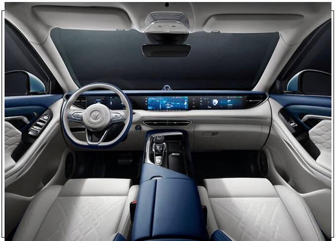 岚图版AX7电动SUV发布 竞争理想ONE 明年上市-图1