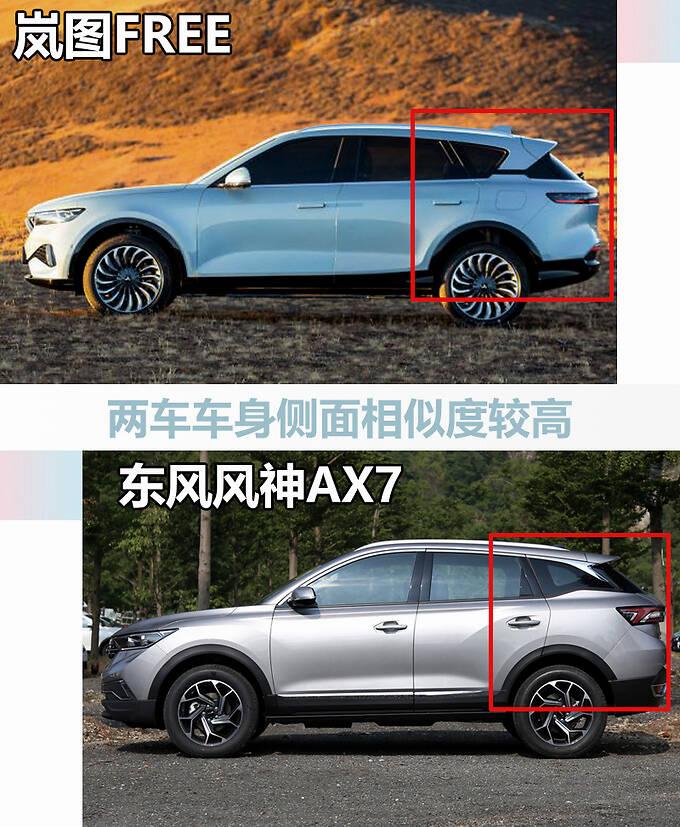 风神轿车底盘魔改岚图版AX7电动SUV发布-图4