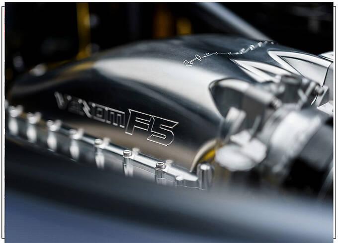 轩尼诗新车毒药F5发布碳纤维单体车身仅重86公斤-图9