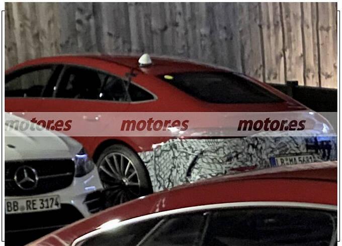 梅赛德斯-AMG GT 73e谍照 搭4.0T插混/四出排气-图3