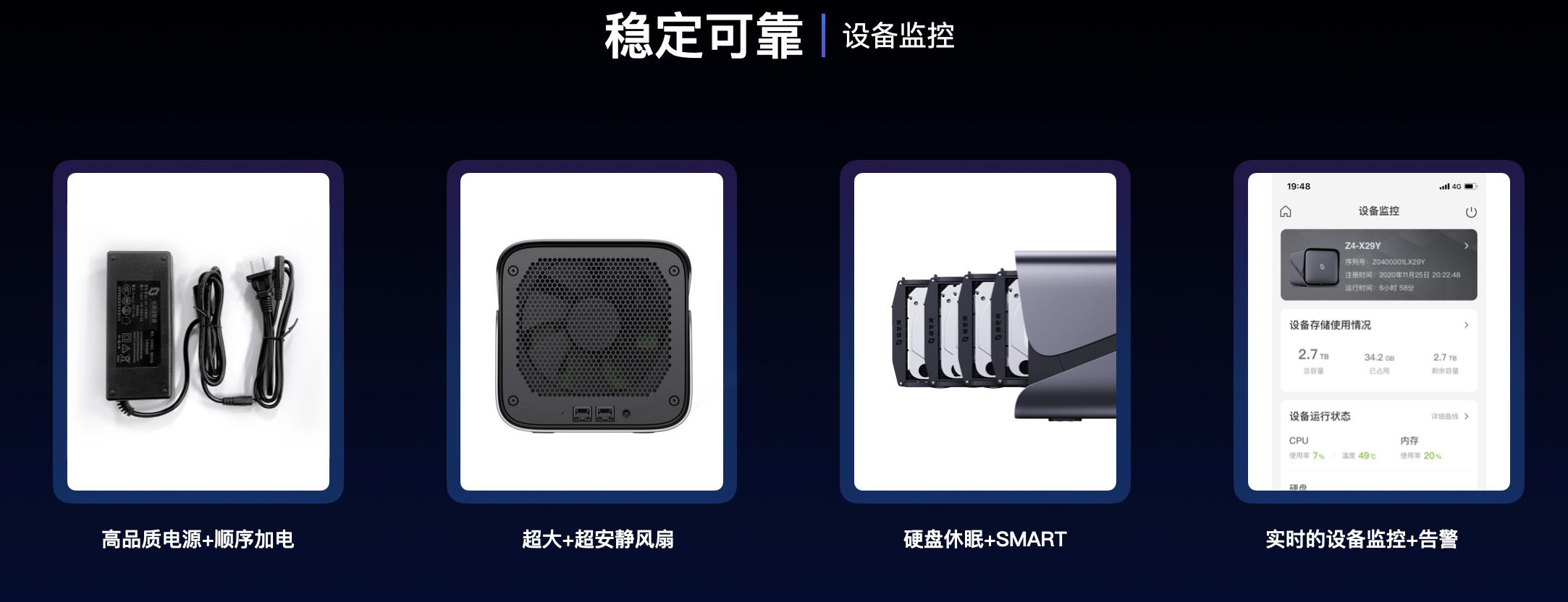 图片[5]-NAS新玩家 极空间Z2 / Z4 私人云正式发布,瞄准威&群 定价1199/2399元起-思安阁