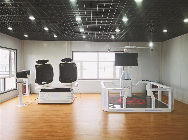 智慧工地VR体验馆。