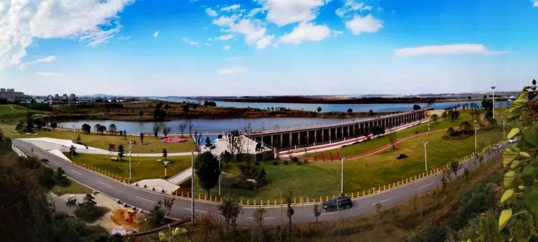 ▲长江湿地公园