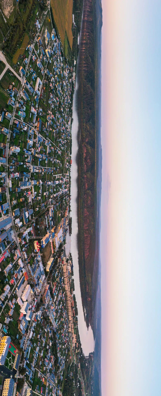 ▲ 黑龙江漠河北极村,与俄罗斯隔河相望。摄影/黄雪峰
