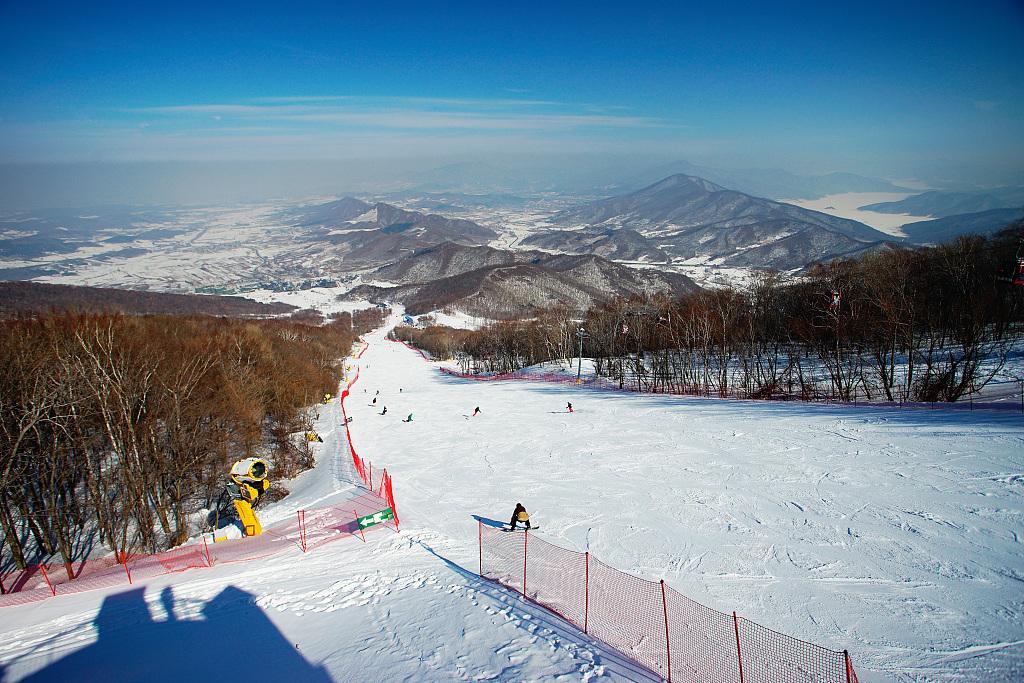 长白山滑雪场