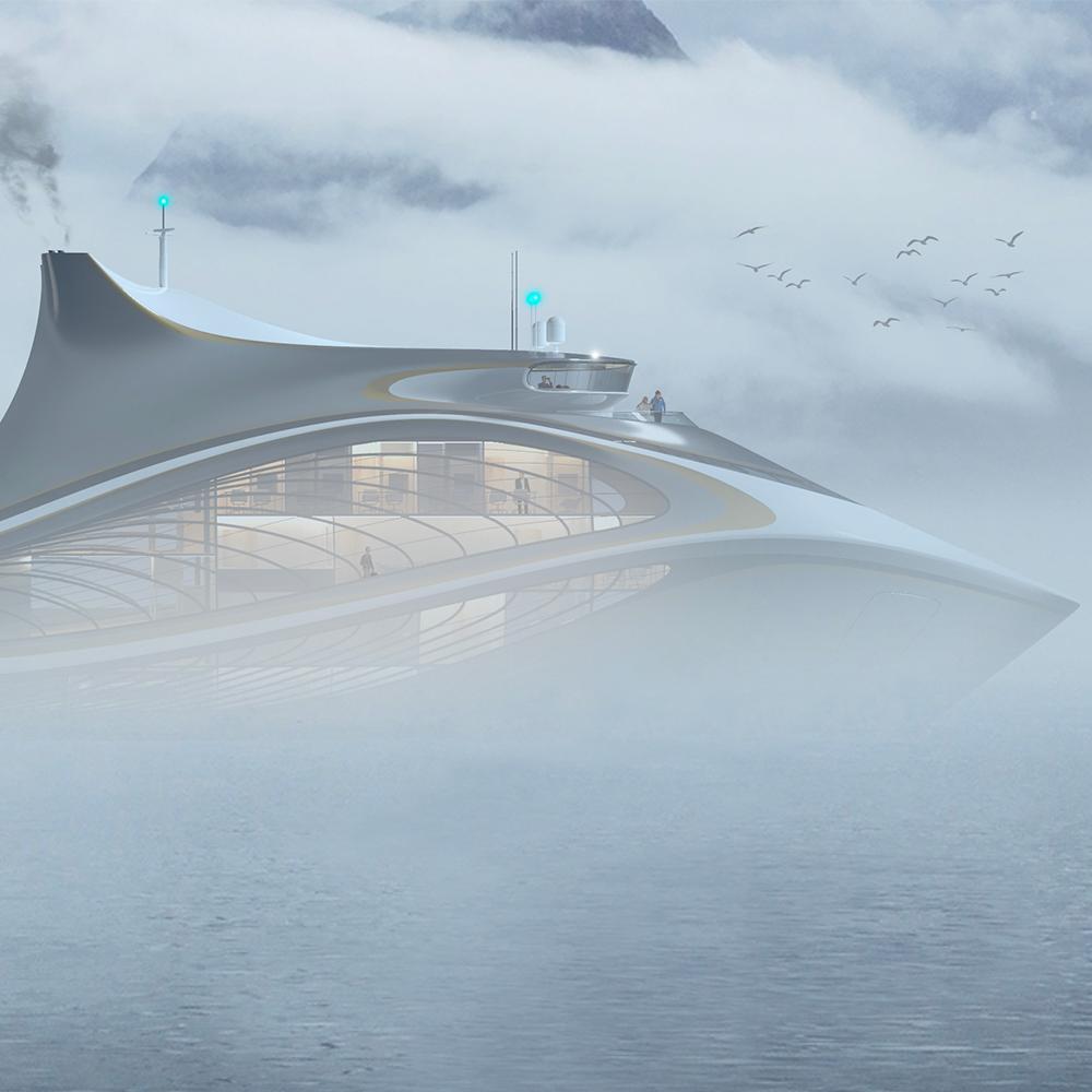 设计效果图。图片来源:南方海洋实验室