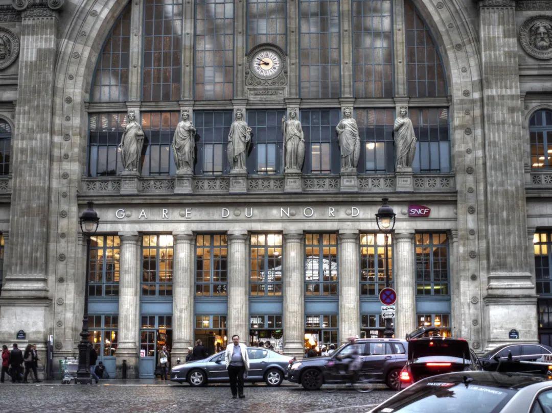△ 巴黎北站的新古典主义/wiki