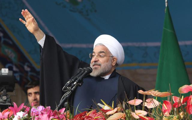 """伊朗总统对特朗普放狠话:""""萨达姆就是你的下场"""""""