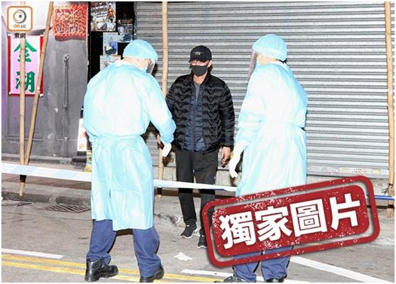 染疫的李运强逃离医院3日后在旺角街头被警方缉获。