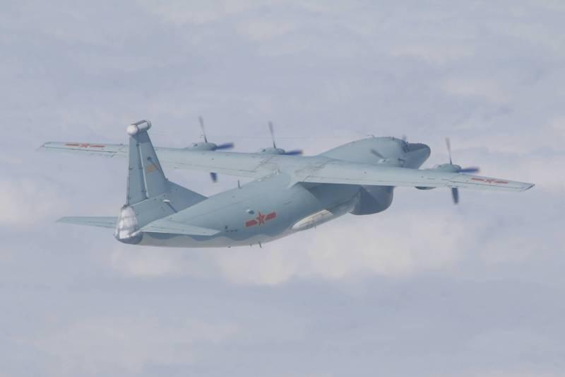 解放军战机一早三度进入台湾空域,绿媒称广播记录到诡异回应