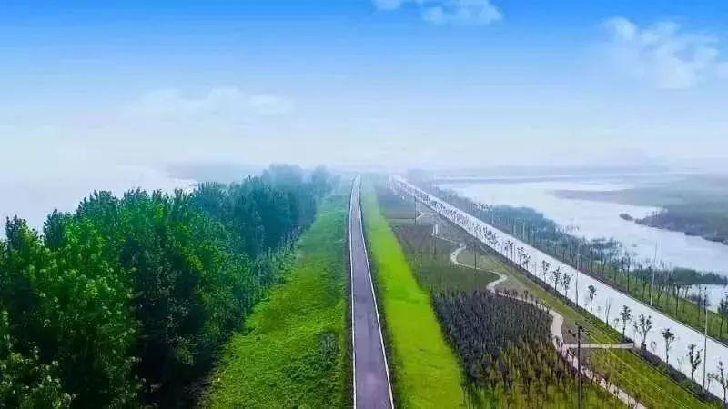 ▲46.5公里长江最美岸线,约占长江江西段的三分之一