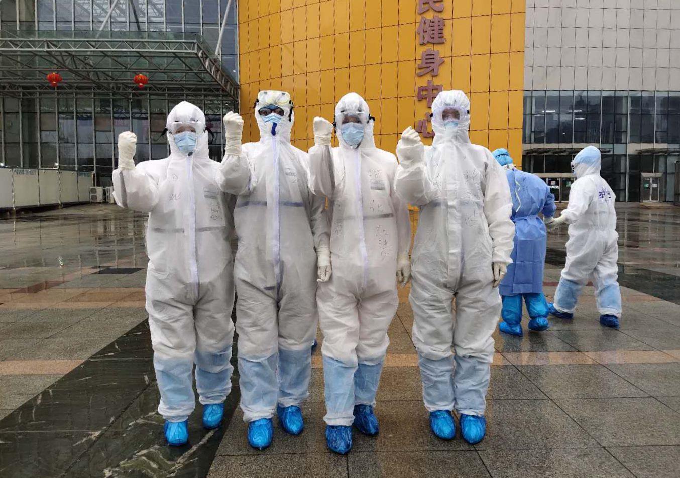 河钢集团医护人员在疫情中挺身而出