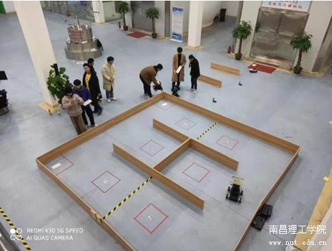 南昌理工学院在第22届中国机器人及人工智能大赛中获佳绩