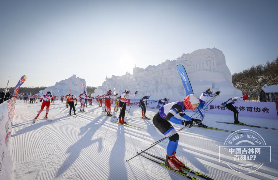 第十九届中国长春净月潭瓦萨国际滑雪节盛大启幕