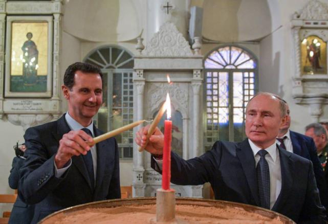 普京访问叙利亚为防不测设下层层安保,俄防长:比电影还惊险刺激