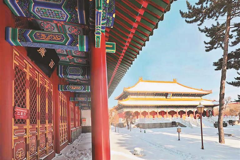 """哈尔滨97个城市公园""""留白""""造景被游客点赞"""