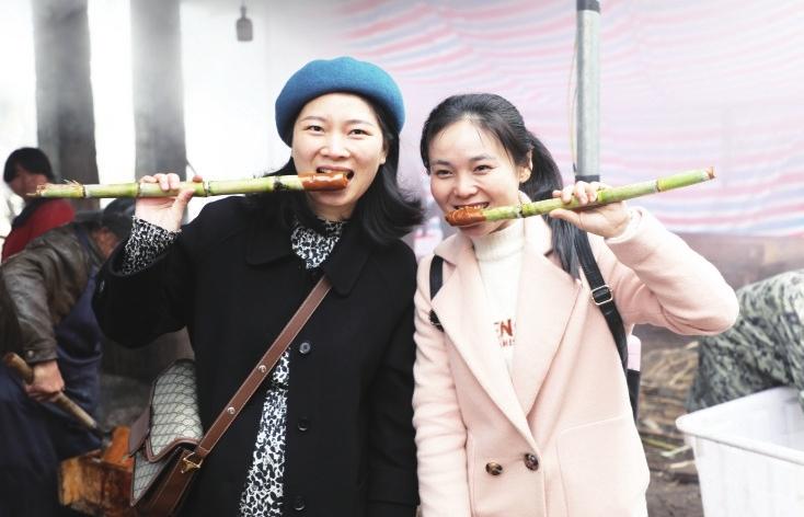 抚州东乡:体验红糖熬制 感受甜蜜乡愁(图)